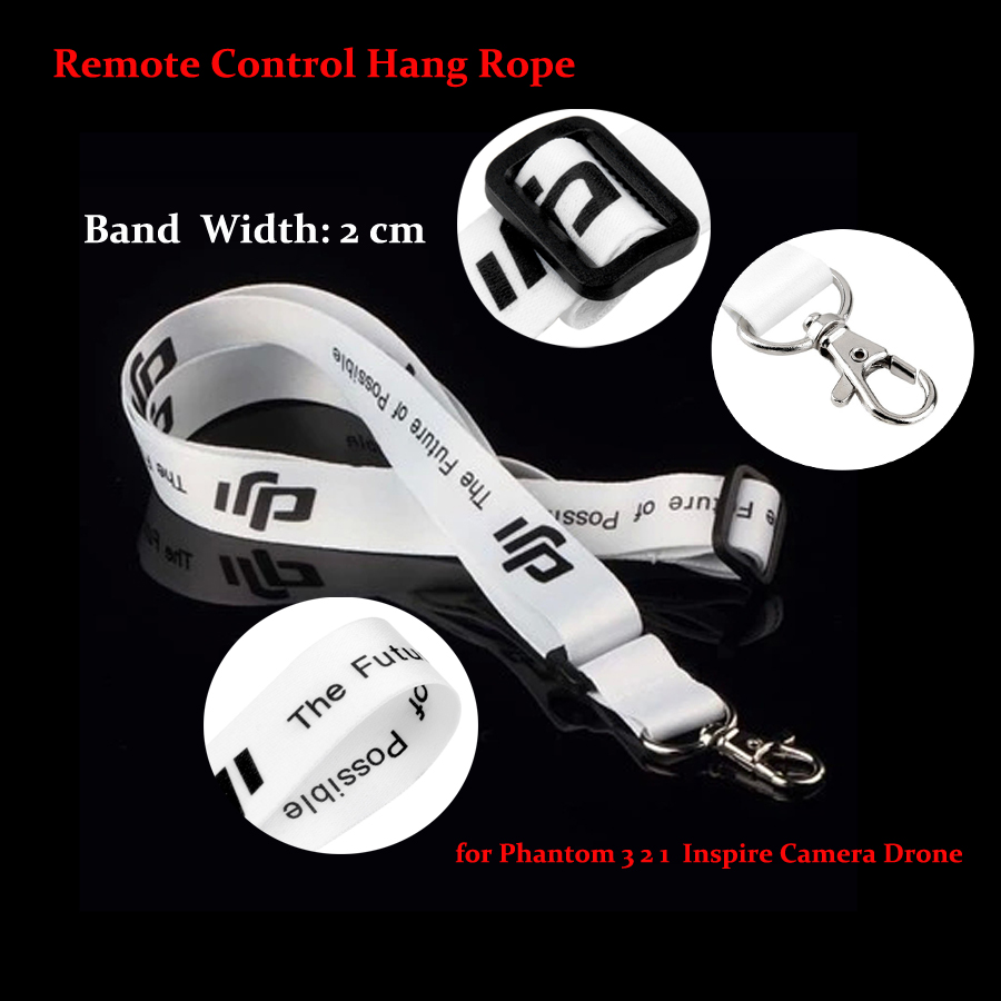 High Quality DJI Strap Remote Control Hang Rope Phantom Sling Accessories for Phantom 3 2 1 Inspire version Drone Camera