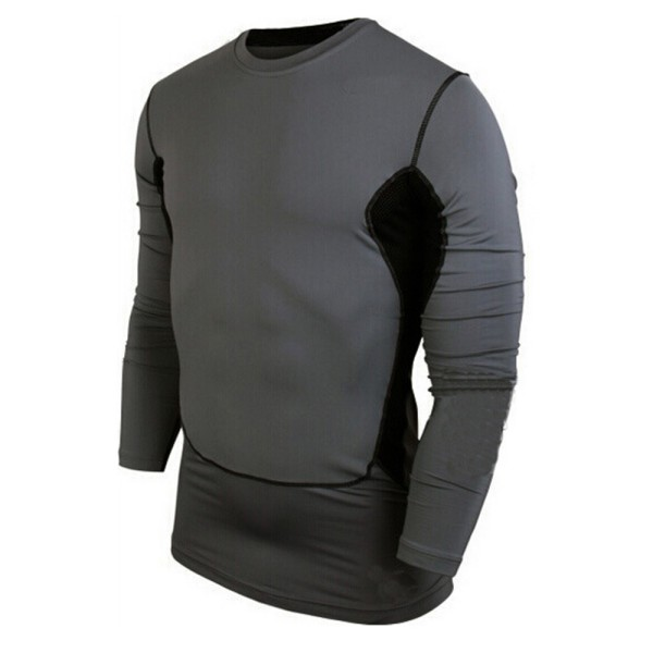 Fitness T Shirt Quick Dry Mens Compression Base Layer Tops Summer Bodybulding
