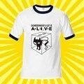 New Fashion Shirt The Big Bang Theory T-shirt Sheldon Cooper Schrodinger 's Cat T shirt Men Cartoon Anime Print Shirts