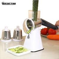 GXYAYYBB Manual Multifunctional Vegetable Spiral Slicer Chopper Mandoline Slicer Grater Clever Vegetable Cutter Kitchen Tools