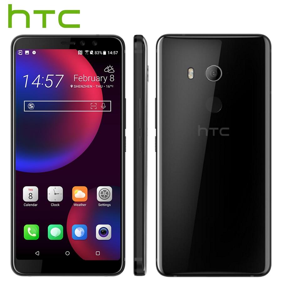 Original HTC U11 EYEs 4G LTE Mobile Phone 4GB 64 GB Snapdragon 652 Octa Core 6
