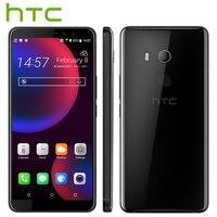 Original HTC U11 Eyes 4G LTE Mobile Phone 4GB 64 GB Snapdragon652 Octa Core 6.0 inch Android 8.0 IP67 Waterproof NFC Smart Phone