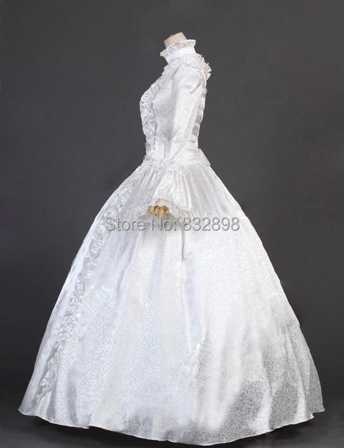 Viktorijanska gotička kozmetička haljina od satenske princeze - Ženska odjeća - Foto 4