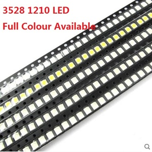100pcs 3528 1210 Blue Red Yellow White Green Purple Light Diode 1210 SMD LED Super Bright high quality 3528 LED bead 3.5*2.8mm