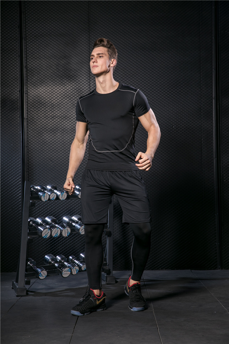 treino jogging roupas esportivas treino seco ajuste