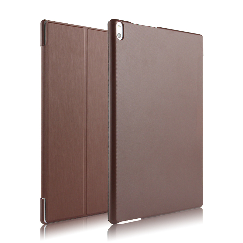 High quality Folio PU Leather Case Cover For Lenovo TAB 4 10 Plus TB-X704F / X704N 10.1 inch Tablet + Stylus + Film ynmiwei for miix 320 leather case full body protect cover for lenovo ideapad miix 320 10 1 tablet pc keyboard cover case film