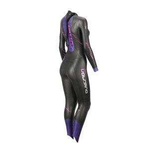 Image 5 - UTTER Volcano Women Purple 5MM SCS Long Sleeve Wetsuit Triathlon Suit Surfing Yamamoto Neoprene Swimsuit