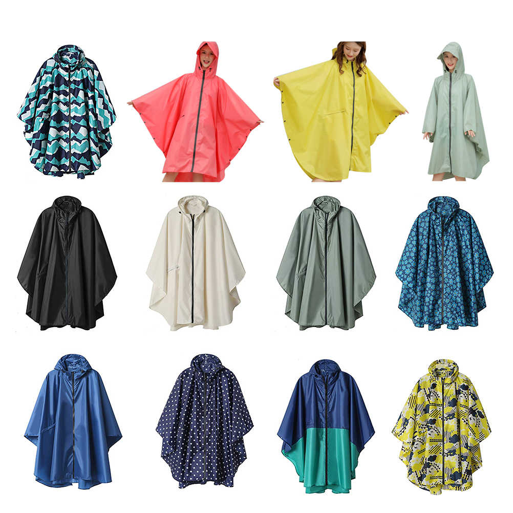 1 шт. Водонепроницаемый Открытый Велоспорт плащ женский Мужской плащ тонкое пончо с капюшоном для взрослых длинное пальто дождевик костюм