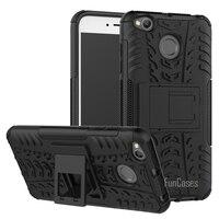 Case For Xiaomi Redmi 4X Case 5 0inch Hybrid Kickstand Dazzle Rugged Rubber Armor Hard PC