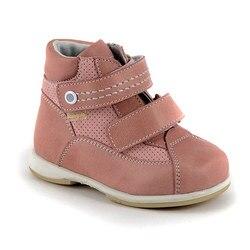 Comfortabele schoenen Skorokhod lederen orthopedische zomer meisje roze schoenen peuter