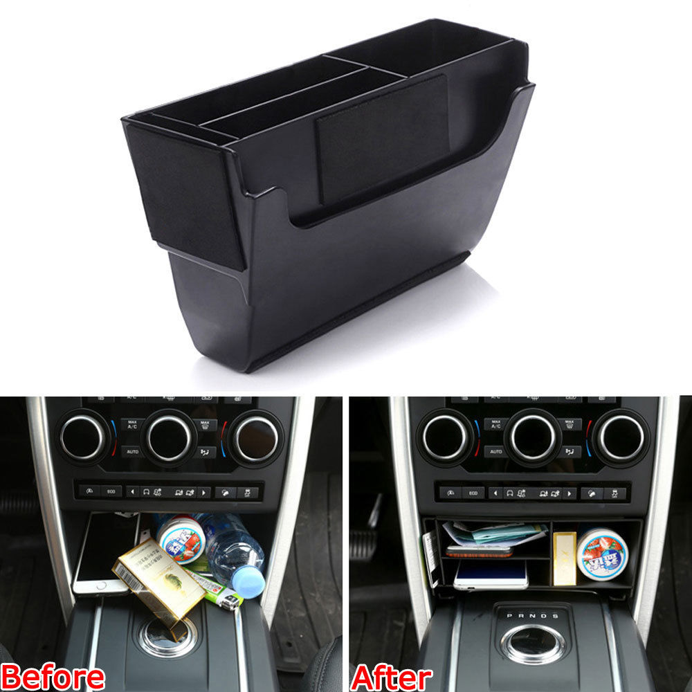 2018 Land Rover Discovery Interior: Car Interior Central Console Multifunction Storage Box Fit