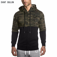 DANTBULUN 2017 New Brand Fashion Men Jackets Sweatshirts autumn and Men's Jackets military camouflage stitching casual coat