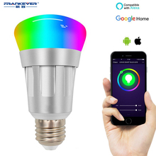 FRENKEVER Smart Bulb E26 Base Warm Bulbs  LED Light Timing Function with Alexa & Google Home WIFI APP Remote Control FK-PH505GZ