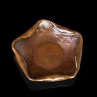 ATLIE BRONZ Pirinç şeker yemekleri heykelcik Bronz anicraft küllük masaüstü dekor Tatil Hediyeler|gift gifts|gift candygift decoration -