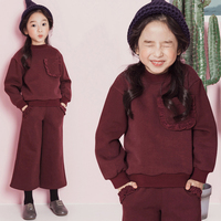 2017 Girls Chic Sassy Clothing Set 2 Pcs Cute Outfit For Teens Baby Kids New Year