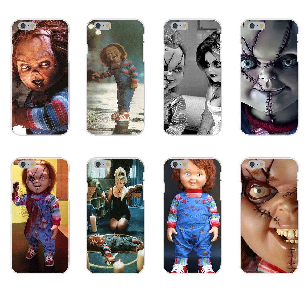 Transparent Coque Phone Cover Case For Galaxy A3 A5 A7 A8 A9 A9S On5 On7 Plus Pro Star 2015 2016 2017 2018 Novelty Chucky Doll image