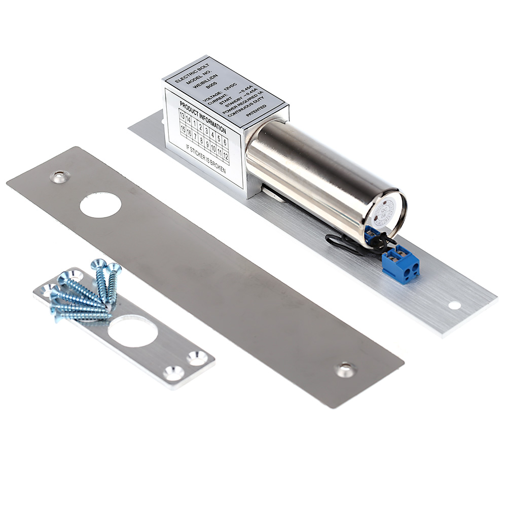 Electric Bolt Lock Setting DC 12V Stainless Steel Heavy-duty Fail-Safe Drop Door Access Control Security летняя шина bridgestone turanza t001 195 55 r16 87v