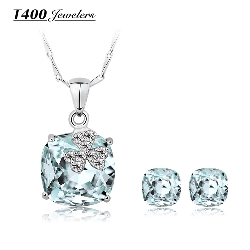 Buy t400 925 silver party accessories for Swarovski jewelry online store