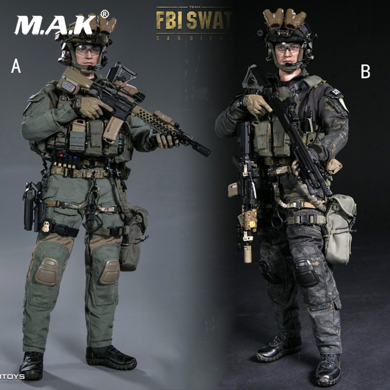 Full set action figure 1/6 Scale1/6 FBI SWAT TEAM AGENT ...