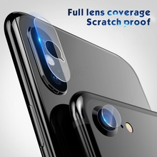 100pcs Back Camera Lens Screen Protector Film For iPhone X Xs Max Xr 6 78 plus Tempered Glass Explosion Proof Film