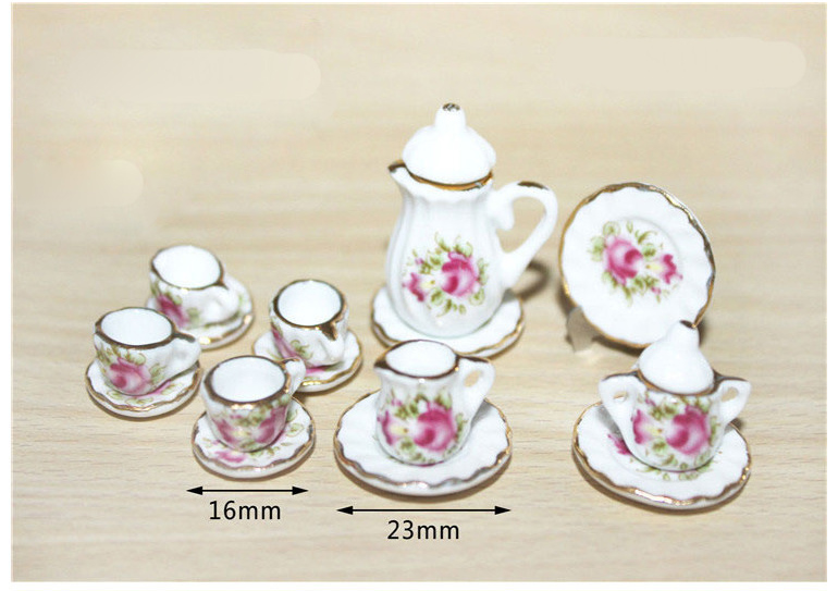 1:12 Scale Three Tier Glass Cake Sandwich Stand Dolls House Food Accessory G8B