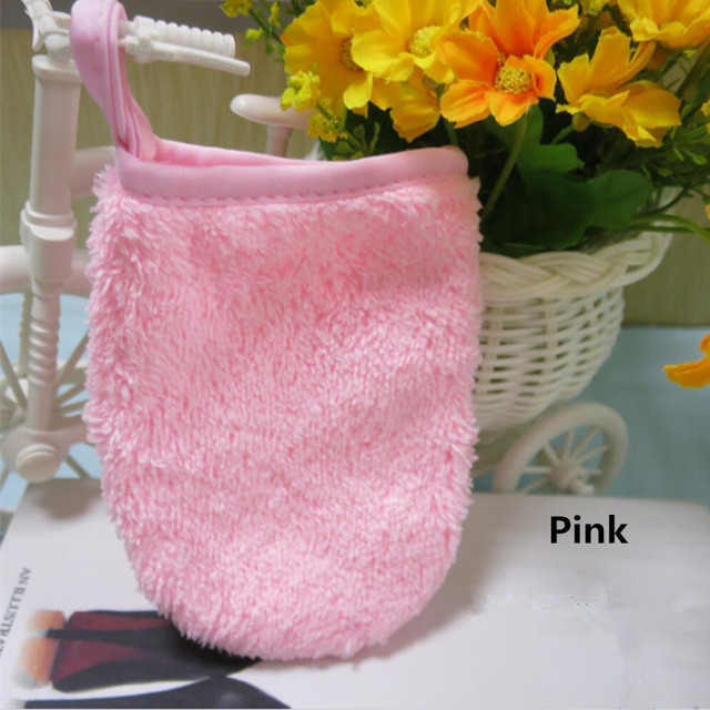 1 Pc 7 Colors Makeup Remove Glove More Portable To Carry Than The Makeup Remover Towel Cheaper Than Makeup remove Towel