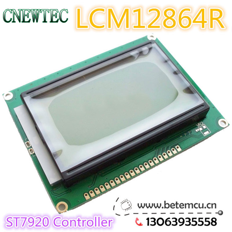 Оптоэлектронный дисплей 1 . LCM12864R 128