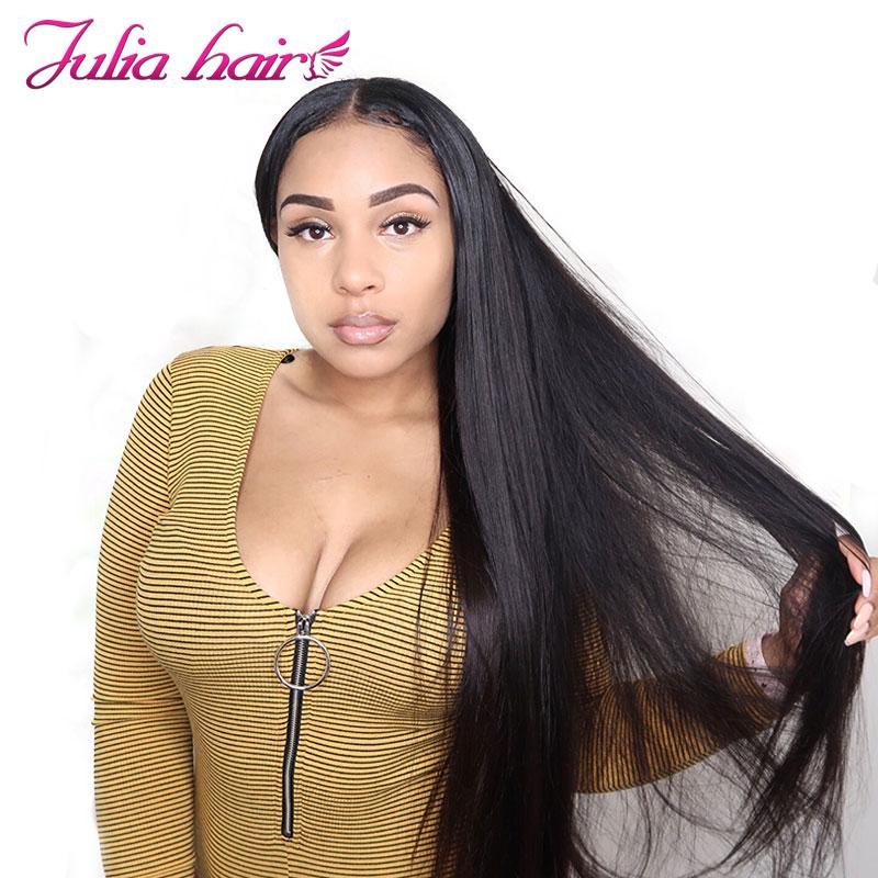 Ali Julia Hair 8 to 30 Inches Bundles Brazilian Straight Human Hair Bundles 3Pc Lot Natural