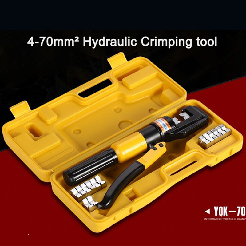 1pcs 4 70mm hydraulic crimping tool yqk 70 free shiping by dhl in pliers from home improvement. Black Bedroom Furniture Sets. Home Design Ideas