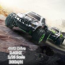 Новинка 2017 Bigfoot RC Car 2.4 г 4WD моделирование гоночный автомобиль 1/26 Внедорожник Багги электронная модель игрушки Kid подарок против 2098b