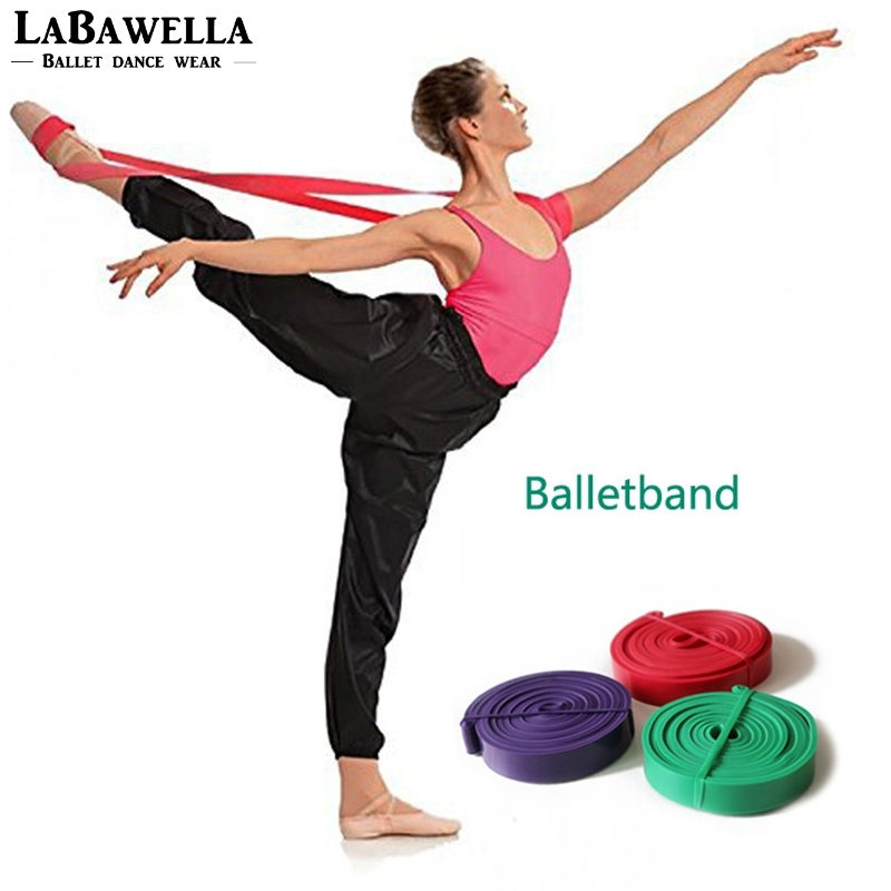 Ballet Band Fitness Resistance Bands Rubber Pull Up Bands Gym Strength Training Equipment 208cm Power Latex Band Loop StrapDT005