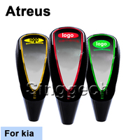 Atreus Car Styling Shift Gear Knob For kia Rio K2 Ceed Soul Cerato Sorento Sportage Touch Sensor LED Light Colourful 5/6 Speed