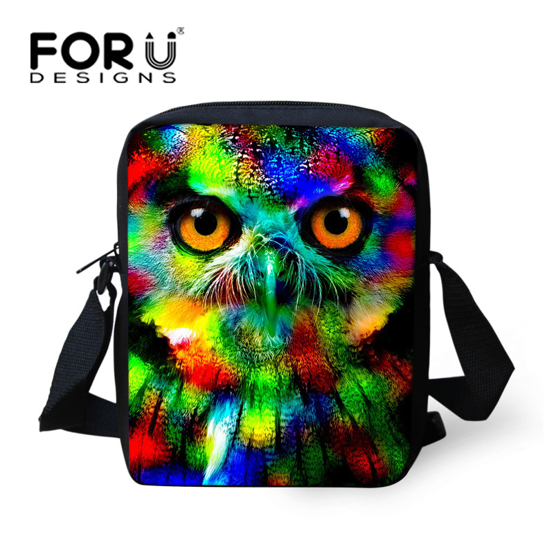 Cool Little Girls School Bags Print Owl Children Bags Mini Child Schoolbags Preschool Ba ...