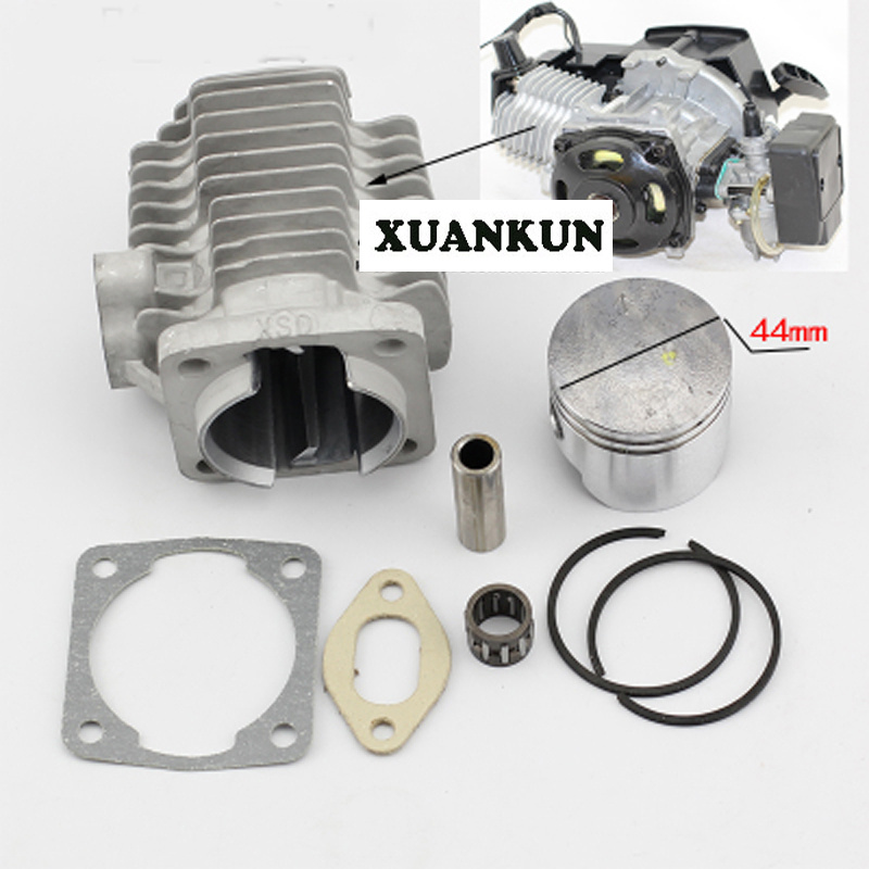 XUANKUN Motorcycle Accessories Small Sports Car Small Off - Road 49CC Engine Cylinder Block Piston