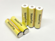 MasterFire 20PCS/LOT New LG HE4 Chem 18650 ICR18650HE4 30A 35A discharge lithium protected battery cell 2500mah batteries