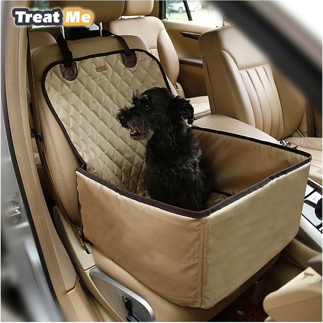 Deluxe Pet Dog Car Booster Seat Travel Dog
