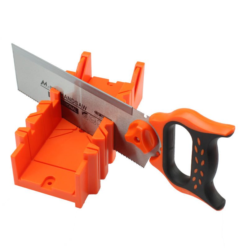 Cheap Back saw with Mitre Box Angle cutting tool 22.5 degree 45 degree 90 degree Wood Working Tools mitre saw hyundai m 1500 210