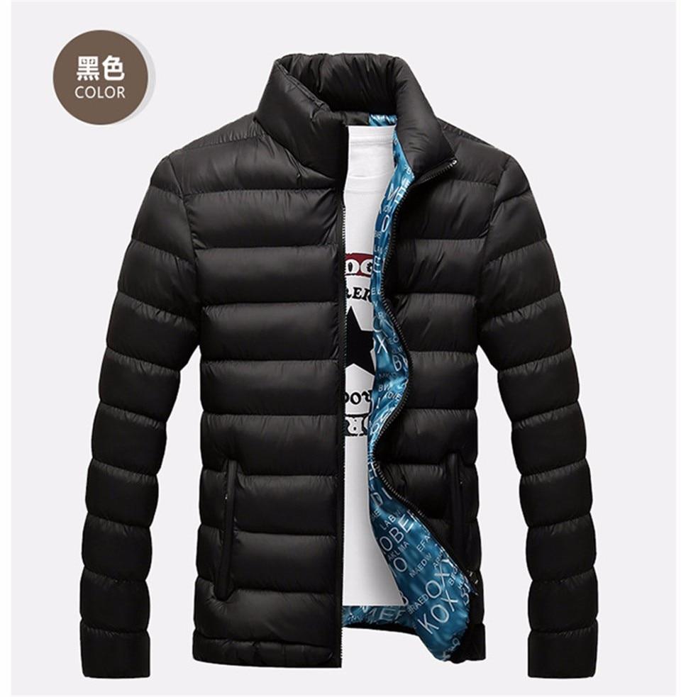 HTB1gUK.bkUmBKNjSZFOq6yb2XXaX 2019 New Winter Jackets Parka Men Autumn Winter Warm Outwear Brand Slim Mens Coats Casual Windbreaker Quilted Jackets Men M-6XL