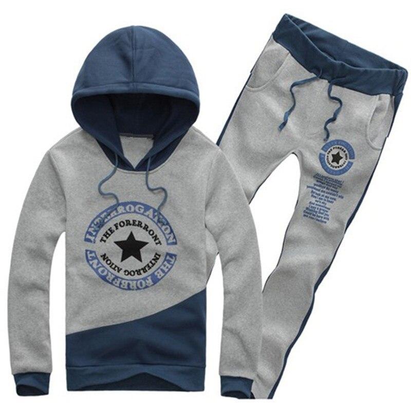 2 unids! 2015 nueva moda para hombre ropa deportiva