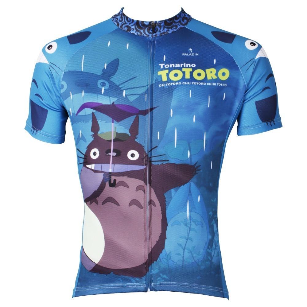 Prix pour Hommes Cyclisme Jersey Classique Anime Mon Voisin Totoro Hommes Vélo Clothing Vélo Sportwear Vélo À Manches Courtes Vélo Jersey