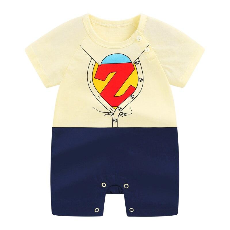 DenimSeason 0-36m Summer Baby Rompers Baby Boys Jumpsuit Cool Newborn Rompers Baby Jumpsuit Fantasia Clothes Infantil Onesie