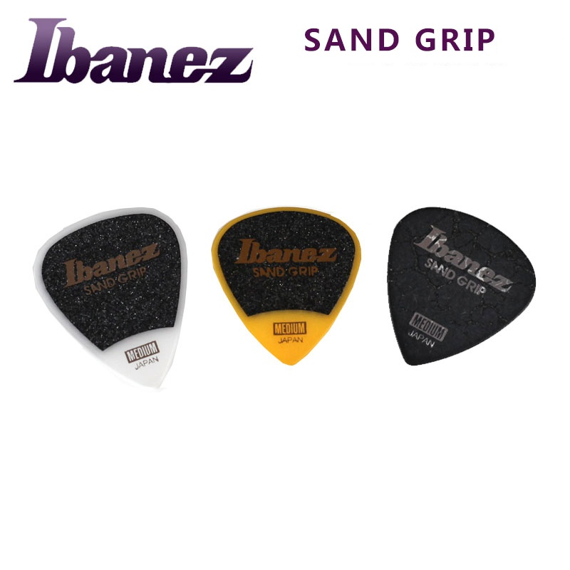 ibanez grip wizard series sand grip plectrum electric acoustic guitar pick 1 piece made in. Black Bedroom Furniture Sets. Home Design Ideas