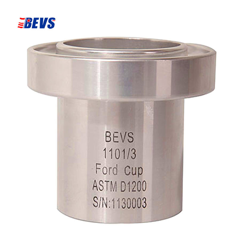 BRAND BEVS  FORD ASTM Viscosity Flow Cups Viscosity Meter  stainless steel nozzle   ASTM D1200 D333 D356  viscometer Paint Ink ford cup viscometer precise paint viscosity cup ford flow cup 2 astm d1200