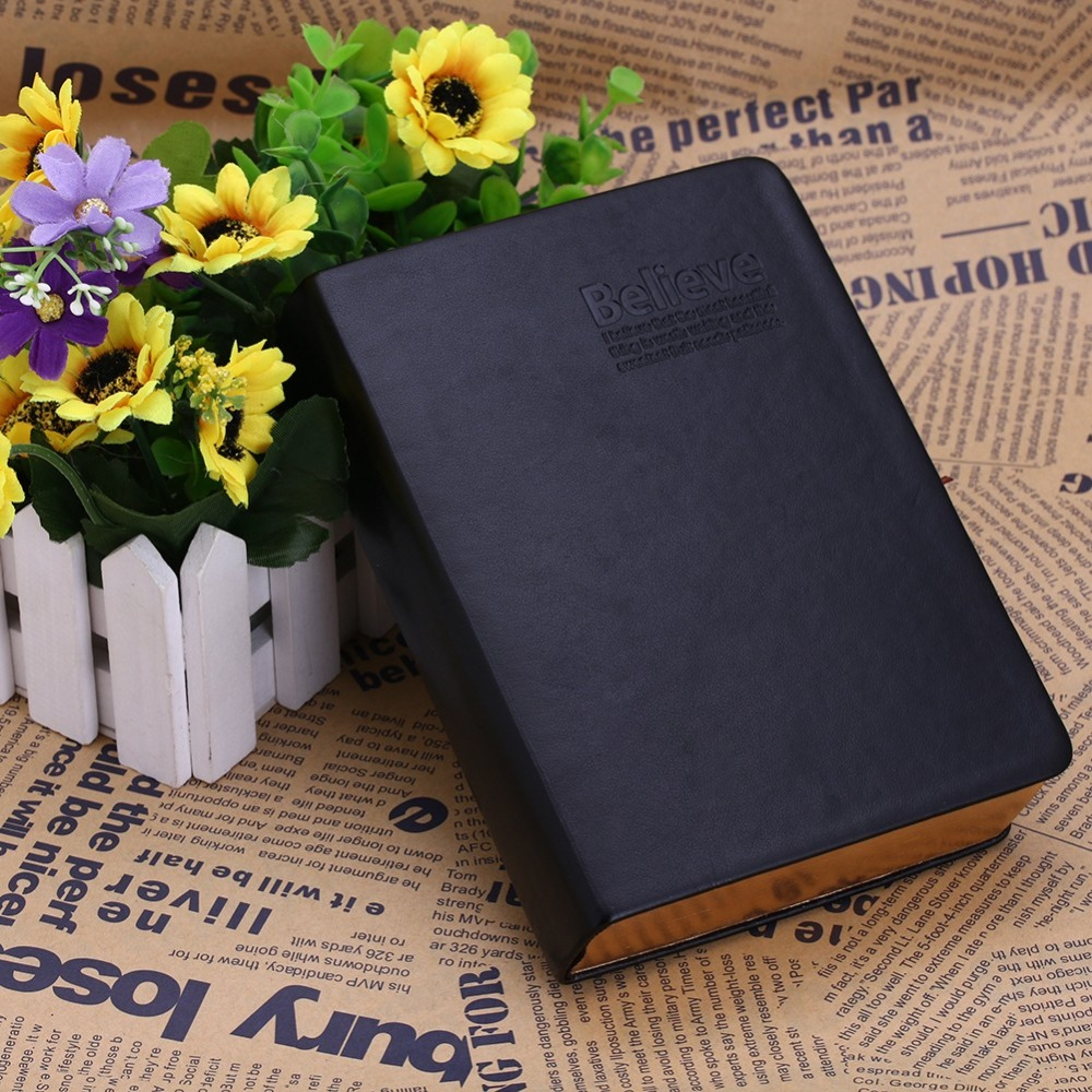 OOTDTY Vintage Classic Journal Notebook Diary Sketchbook Thick Blank Page Leather Cover 1 pcs classic notebook vintage