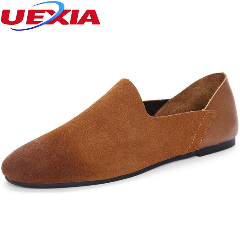 Men's Shoes Fashion Summer Style Soft Moccasins Oxfords Loafers High Quality Suede Leather Peas Driving Working Office Men Shoes 2017 hot sale men shoes suede leather big size high quality fashion men s casual shoes european style mens shoes flats oxfords