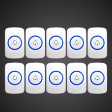 10 Kerui Wireless Panic Button Wireless Doorbell Emergency Button  For Home Alarm System Security Emergency Call Door Bell
