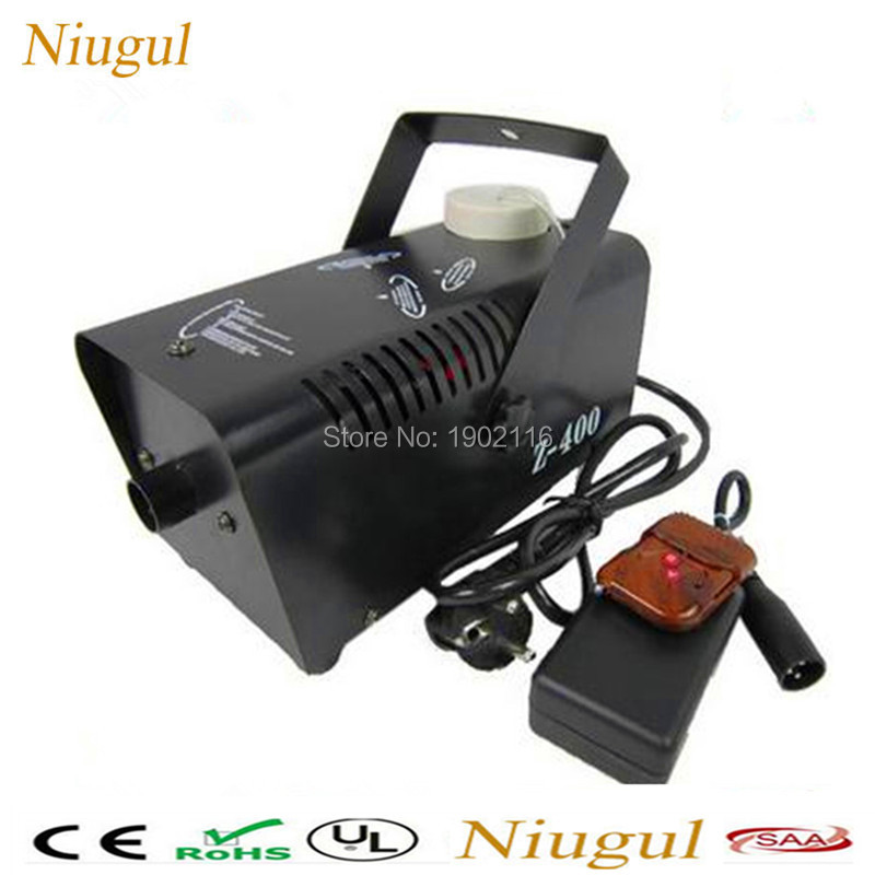 Niugul Wireless Remote control 400W mini stage smoke machine/disco home party 400w fog machine dj equipments/remote 400W fogger 4x lot dropshiping 400w mini smoke machine fog machine special effects for stage light party events 90 240v