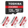 100% Original TOSHIBA MicroSD Micro SD SDHC C10 Max Read Speed 90M/S TF 128G/64G/32G Memory Card Support Official Verification