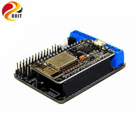 Free Shipping Node MCU Development Kit Motor Shield Wifi Esp 8266 ESP 12E Toy Robot Smart