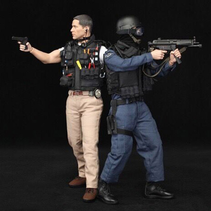 1/6 Scale US LAPD SWAT Kenny Action Figure With 2 Sets of Clothes Full Set with Accessories 1 6 scale male full set action figure with accessories us 90s lapd swat kenny figure model toys with clothes